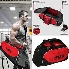 RDX Sporttassen Reisetasche Sporttasche Duffel Sports Kit Bag Club Team Red NL