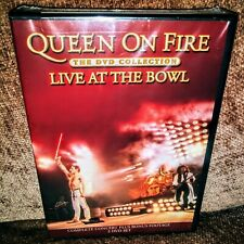2-DVD Queen On Fire - Live At The Bowl - NTSC - Complete Concert & Bonus SEALED!