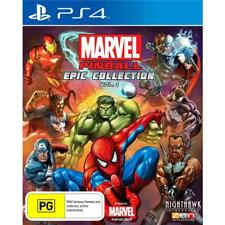 Marvel Pinball Epic Collection Vol 1 PlayStation 4 PS4 GAME BRAND NEW FREE POST