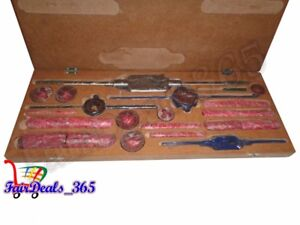 """TAP AND DIE SET 1/8"""" TO 1"""" BSP- BOXED COMPLETE"""