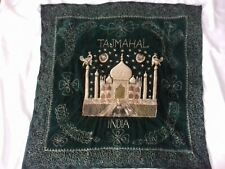 Taj Mahal Tapestry Wall Hanging With Embroidery Decoration Collectable
