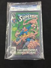 Superman The Man Of Steel #17 1st Cameo Appearance Of Doomsday CGC 9.0
