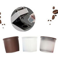 4*Reusable Coffee Filter Capsule Refillable/Capsulone Cups For Illy Iperespresso
