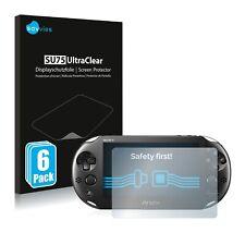 6x Pellicola Protettiva per Sony Playstation PS Vita Slim protezione Proteggi
