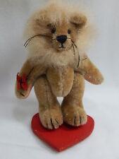 "World of Miniature Bears 3"" Plush Lion Courage #1001 Collectible Miniature Lion"