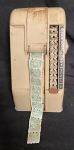 Vintage Grocery Store Machine S&H Green Stamp Dispenser Roto-Stamp #1051