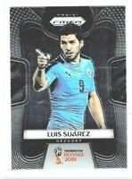 2018 Panini Prizm World Cup Soccer Luis Suarez (Uruguay) Base #214