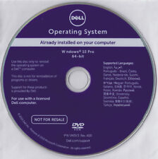 Dell Windows 10 Pro 64bit OS Reinstallation DVD .