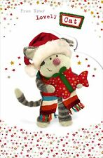 Boofle From Your Cat Christmas Greeting Card Foiled Xmas Cards