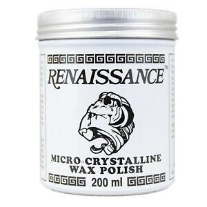 RENAISSANCE Micro-Crystalline Wax Polish - 200ml Tin