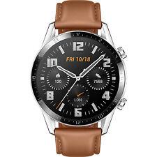 Huawei Watch GT2 Latona-B19s Leather 46mm - Pebble Brown