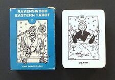 Vintage Ravenswood Eastern Tarot Cards Deck Dirk Dykstra 1981 Middle Eastern