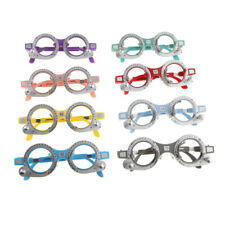 8pcs Optical Trial Lens Frame Eyeglasses Optometry Optician Optic Instrument