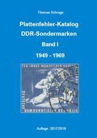 DDR Plattenfehler Katalog 1949 - 1969