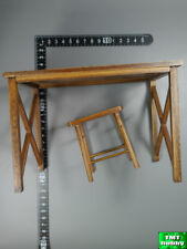 1:6 Scale DID WWII German General Drud D80123 - Wood Desk & Chair