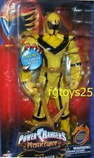 """Power Rangers Mystic Force YELLOW 12"""" Talking Ranger  New Factory Sealed 2006"""