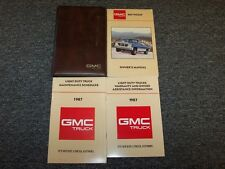 1987 GMC R V 10 20 30 Pickup Truck Owner Owner's Operator User Guide Manual Set