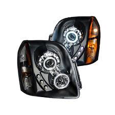 ANZO For GMC Yukon/XL/Denali 07-14 Projector Headlights Black Halo 111148