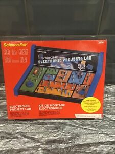Vintage Science Fair. 30 in 1.  Electronic Projects Lab Radio Shack Unused