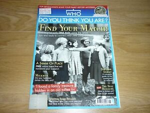 Who Do You Think You Are? magazine issue 152 June 2019