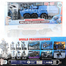 World Peacekeepers AMB COMBAT ARMORED VEHICLES 1/18
