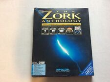Zork Antología IBM PC MAC CD ROM Caja Grande-Rápido Post