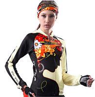Womens Fleece Thermal Winter Cycling Bicycle Jacket Casual Coat Bike Jersey Warm