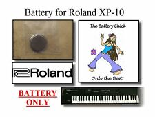 Battery for Roland XP-10 Synthesizer - Internal Memory Replacement Battery