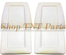 1960-65 A B C Body Front Bucket Seat Foam Pair Polara Coronet Foams Dart Cuda