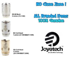 (10-Pack) Genuine Joyetech Ex Exceed Edge Air D19 D22 Coils 1.2/ 0.5/ EX-M 0.4