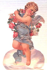 CUPID WITH ARROW & ROSES Greeting Card Stand up Display MINT/SEALED HTF Shackman