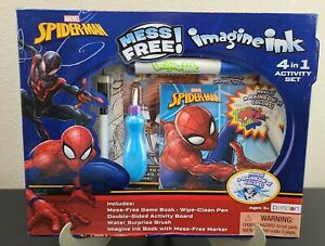 Marvel Spider Man Mess Free Imagine Ink 4 In 1 Activity Set