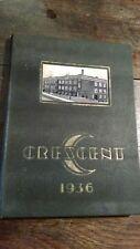 Minerva OH High School yearbook 1936 Ohio