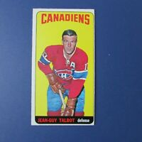 JEAN-GUY TALBOT  1964-65 Topps  # 52  Montreal Canadiens 1965  64-65 EX++