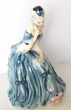Goldscheider Figurine  Vintage Victorian Lady Figurine Looking in the Mirror