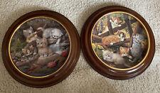 Bradford Exchange Collector Plates 1996 Am Seerosenteich & Frerrpunkt Gartenzaun