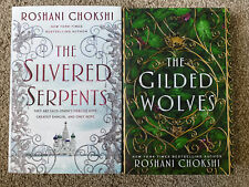 Lot of 2 - The Gilded Wolves/The Silvered Serpents- Both Signed Roshani Chokshi