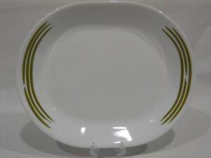 Corelle Joy Manago STROKES 12x10 SERVING PLATTER Plate *Apple Green or Sand Tan