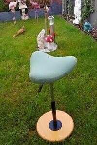 Stokke Varier Move56-82 cm Schreibtischstuhl Stehhilfe Hocker Stuhl Grün  Top
