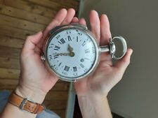 WOW!! Ultra large Coach Clock. Museum Quality. See video's. Solid Investment !!