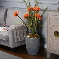 "Modern  ( Contemporary) Ceramic Floor Vase 18"" H x 11.8"" W x 11.8"" D"