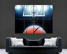 POSTER WALL BASKET SPORT NBA USA gigante enorme grande immagine stampa Wall Art