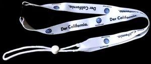 VW Bus - Schlüsselband Lanyard - California - NEU