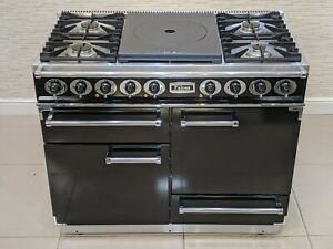 FALCON DELUXE 1092 CT WITH LPG HOB DUAL FUEL RANGE COOKER IN BLACK  A655