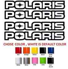 "(#503) 12"" POLARIS RZR SPORTSMAN XP QUAD STICKERS DECALS **ANY COLOR**"