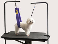 The Belly Band: Pet Grooming Safety Harness Restraint Loop Band