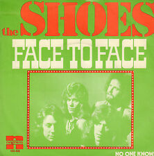 "SHOES ‎– Face To Face (1974 NEDERPOP VINYL SINGLE 7"")"