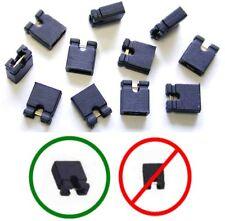 "Lot100 Jumper/Jump Block 2.54mm/.1"" Computer/HD/CD/SCSI/PCB/Circuit Board{BLACK"