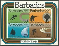 Barbados 1984 - Sports Summer Olympics Games Los Angeles 1984 - Sc 626a MNH
