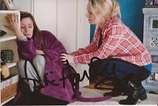 EMMERDALE: ZOE HENRY 'RHONA' SIGNED 6x4 ACTION PHOTO+COA